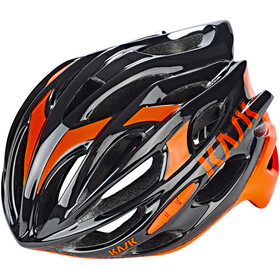 Kask Mojito16 Helm schwarz/Fluo orange